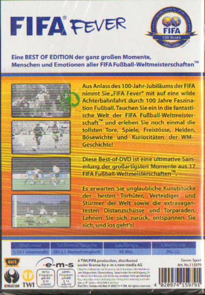 fifa fever Buy fifa fever - best of the world cup [dvd] [2006] from amazon's movies store everyday low prices and free delivery on eligible orders.