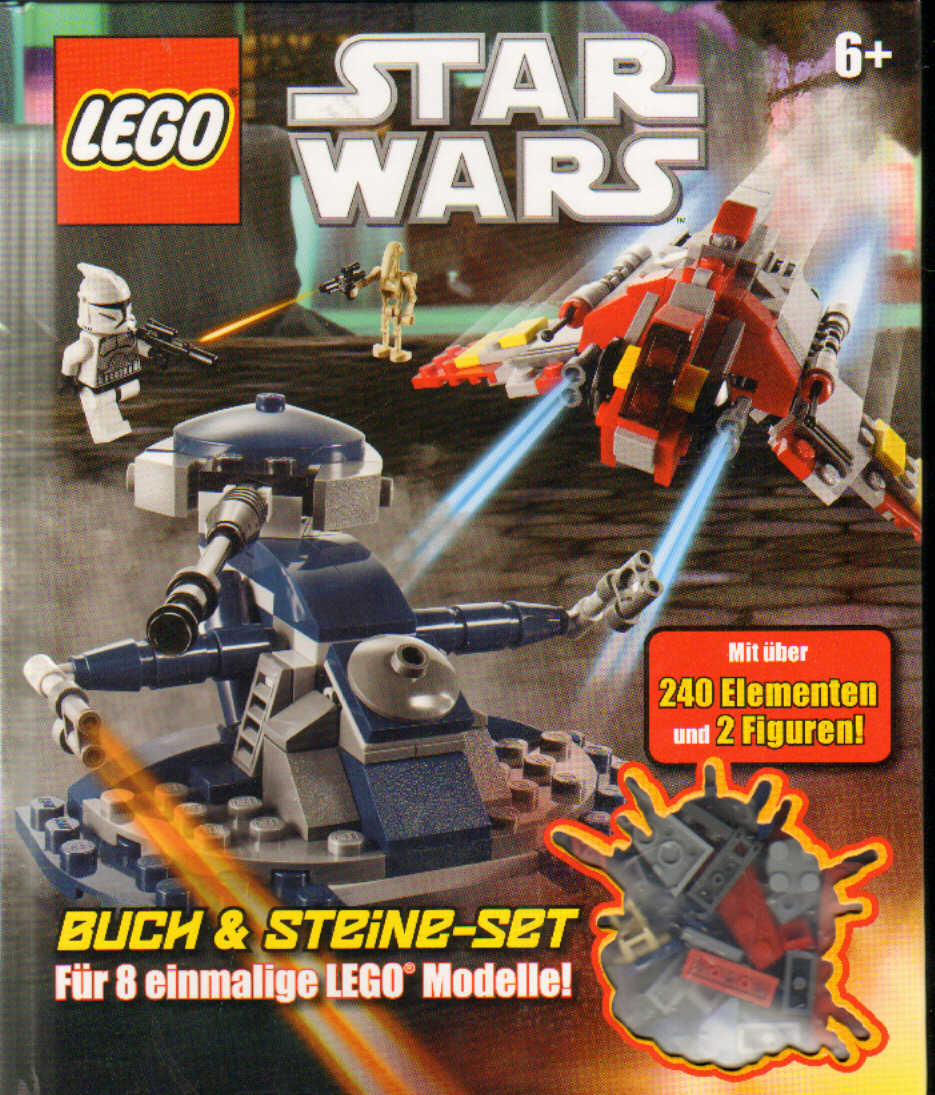 lego star wars buch steine set erasmus toys. Black Bedroom Furniture Sets. Home Design Ideas