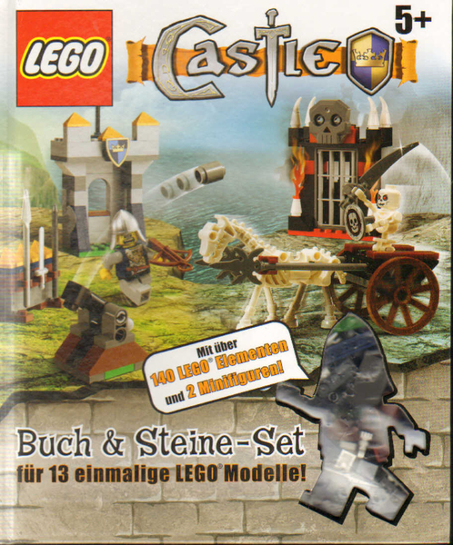 lego castle buch steine set erasmus toys. Black Bedroom Furniture Sets. Home Design Ideas
