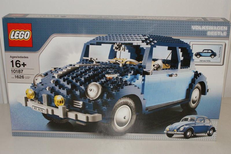 lego 10187 volkswagen k fer beetle oldtimer erasmus toys. Black Bedroom Furniture Sets. Home Design Ideas