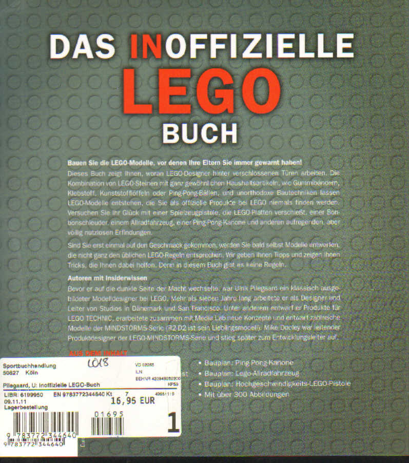 das inoffizielle lego technic buch german. Black Bedroom Furniture Sets. Home Design Ideas