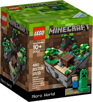 LEGO 21102 Minecraft Micro World  RARITÄT