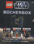 LEGO Star Wars Bücherbox - 3 Bücher in einer Box + TIE FIGHTER