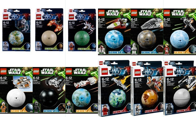 LEGO Star Wars Series Sets 9679 9678 9677 9676 9675 9674 75011 75010 75009 75008 75007 75006