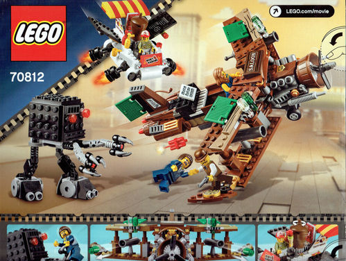 LEGO 70812 Movie Kreative Flug Attacke
