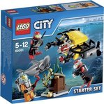 LEGO 60091 City Tiefsee Starter Set