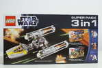 LEGO 6411 66411 Star Wars Super Pack 3 in 1 9495 + 9488 + 9489