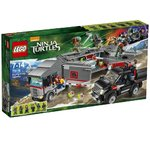 LEGO 79116 Teenage Mutant Ninja Turtles Flucht mit dem Sattelzug