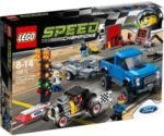 LEGO 75875 Speed Champions Ford F-150 Raptor Ford Model A Hot Rod