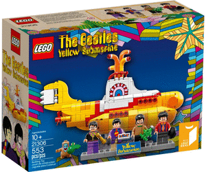 LEGO 21306 Ideas The Beatles Yellow Submarine