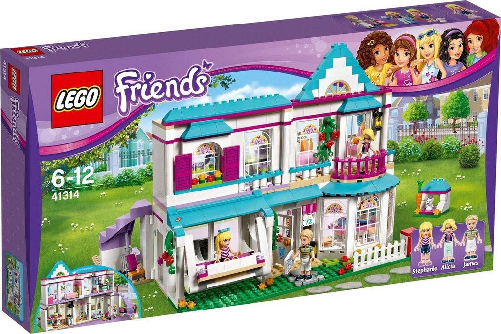 LEGO 41314 Friends Stephanies Haus