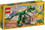 LEGO 31058 Creator 3 in 1 Dinosaurier : T-Rex / Triceratops / Pterodactylus