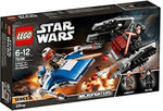 LEGO 75196 Star Wars A-Wing vs TIE Silencer Microfighters