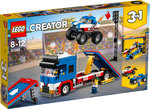 Lego 31085 Creator 3 in 1  Stunt-Truck-Transporter / Pickup / 2 Dragster