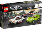 LEGO 75888 Speed Champions Porsche 911 RSR und 911 Turbo 3.0